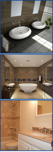 Bathroom remodeling tampa tampa water mold fire for Bath remodel tampa