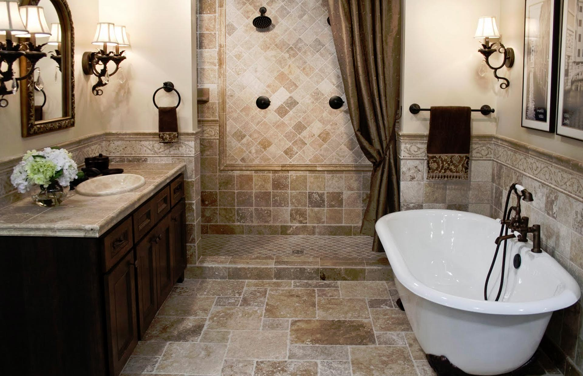 Bathroom remodeling tampa tampa water mold fire for Bathroom contractors