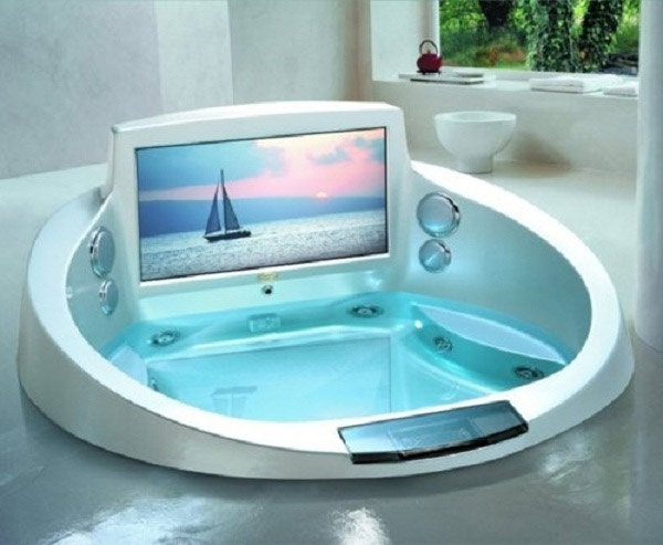 tv in your bath